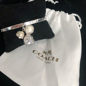 Coach Tea Rose Bangle Bracelet
